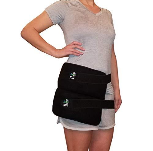 Sensible Fashion Sports Hiking Running Belt Waist Bag Pouch Zip Fanny Pack black Relieving Rheumatism