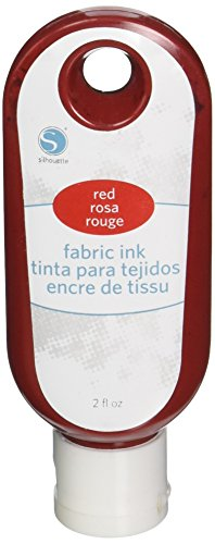 - Silhouette of America Fabric Ink, 2 oz, Red
