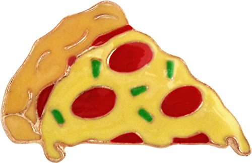 Pepperoni Pizza Slice - Slice of Pepperoni Pizza Enamel Pin