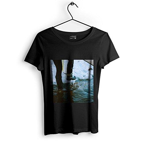 Westlake Art Boot Feet   Unisex Tshirt   Picture Photography Artwork Shirt   Black Adult Medium  None 81552