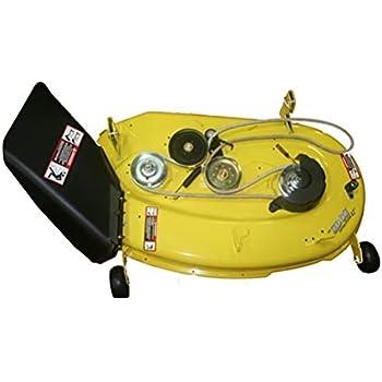 amazon com john deere complete 42 mower deck for la105 John Deere Mower Parts Lookup
