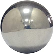 0.062 Diameter 52100 Chromium Steel Sphere Grade G25 0.000024 Sphericity Precision Tolerance Mirror-Like Finish Pack of 100 A295