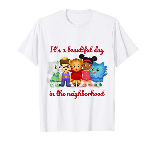 Vebyhogh - Daniel Tiger Shirt for Adults, Toddlers and Kids ()