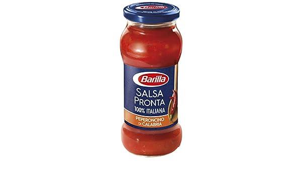 Barilla Salsa Listo peperoncino-300 Gr: Amazon.es: Alimentación y bebidas