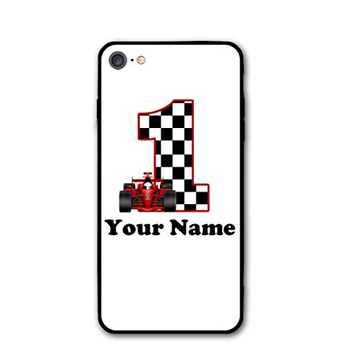 Cell Phone Cases for iPhone 7 and iPhone 8, 4.7-Inch Protective Anti-Scratch Resistant Cover 1st Birthday Race Bib Black One Size