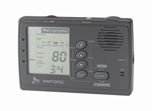 Cherub WMT-555C Tuner and Metronome with Pickup