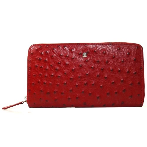 Rogner Monedero zippku Vert Monedero rojo Kos de 8 Mujer ...