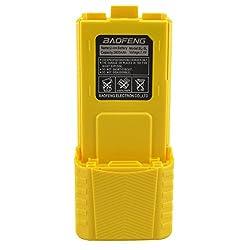 Baofeng 7.4v 3800mah Li-ion Extended Battery Yellow