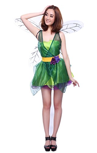 BIFINI Woodland Fairy Princess Women's Adult Halloween Costume