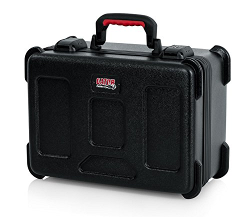 Wired Microphone Vocal Microphones (Gator Cases Molded Flight Case to Hold Up to (15) Wired Microphones with TSA Approved Locking Latch and Cable Storage; (GTSA-MIC15))