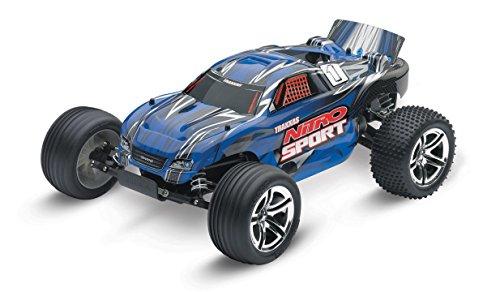 Traxxas Nitro Sport: 2WD Stadium Truck with TQ 2.4 GHz Radio (1/10 Scale), (Twin Engine Nitro Rc)
