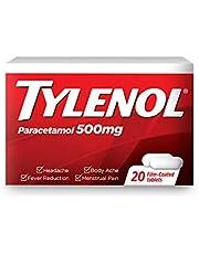 Tylenol Adult 500mg 20s, 0.22 kilograms