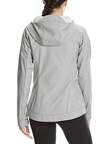 mid Bench Slim Grigio Soft Gy008 Grey Giacca Donna Shell Fit p0q67Bp