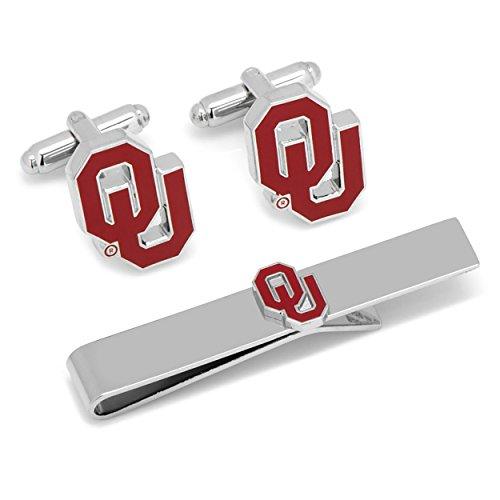 University of Oklahoma Sooners Cufflinks and Tie Bar Gift Set