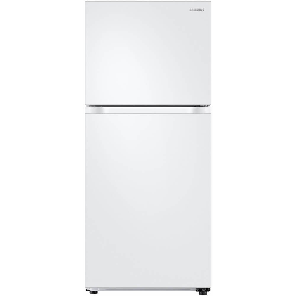 Samsung RT18M6213WW 18 Cu. Ft. White Top Freezer Refrigerator RT18M6213WW/AA