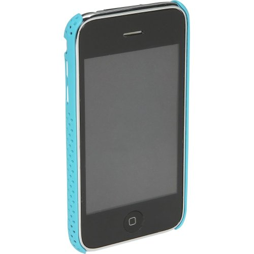 Incase Iphone 3 Perforated Snap Case, vivid turquoise