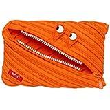 ZIPIT Monster Jumbo Pencil Case, Orange