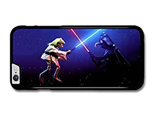The Muppets Kermit Frog Fighting Against Gonzo like Star Wars case for iPhone 6 Plus