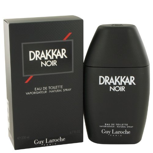 Guy Laroche Drakkar Noir Eau De Toilette for Men 6.7 Ounce Vaporisateur - Natural Spray