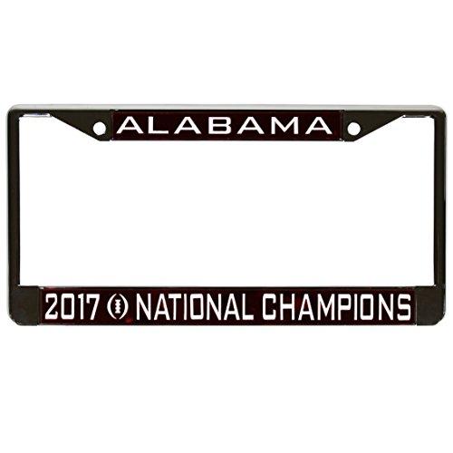 - Alabama Crimson Tide National Champions 2018 License Plate Frame