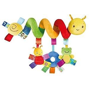 Juguete Colgantes Espiral del Animales para Cochecito,Cama, Cuna a Bebe,GZQES,Juguetes para Bebés y Primera Infancia,Colgantes para Cochecitos con ...