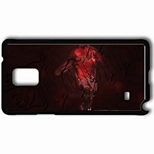 Personalized Samsung Note 4 Cell phone Case/Cover Skin 5 Manchester United Football Black