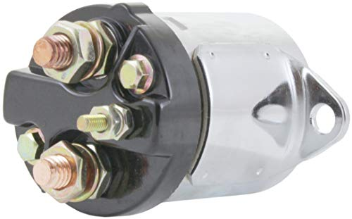 New Premium Chrome Starter Solenoid fits Various Harley Davidson Motorcycles 1971-1988 Harley Davidson 1980-1986 Big Twin 5 Speed Applications 31570-73C 31570-73T HD73C 104159C 31489-79 31489-79A