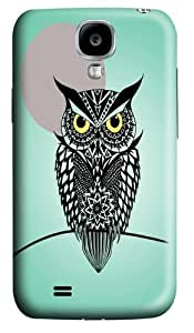 owl print Polycarbonate Hard Case Cover for Samsung Galaxy S4/Samsung Galaxy I9500 3D