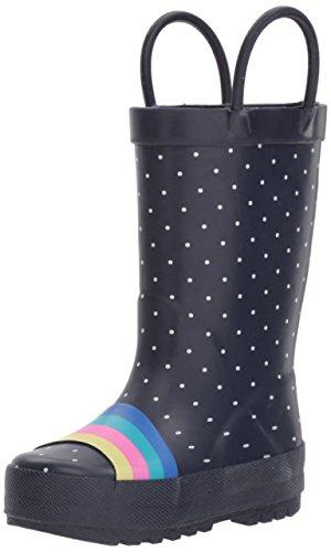 OshKosh B'Gosh Kids' Girl's Rainbow Rubber Rainboot Rain Boot