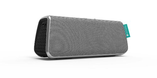 FUGOO Style - Portable Bluetooth Surround Sound Speaker Longest Battery Life with Built-in Speakerphone(Silver)