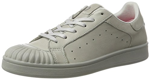 Tamaris 23637, Sneakers Basses Femme, White Comb, 36 EU Gris (Light Grey 204)