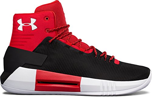 Under Armour Heren Team Rijden 4 Basketbalschoen Rood
