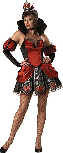 SALES4YA Adult-Costume Queen Of Broken Hearts Xsm Halloween Costume