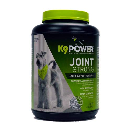 K9 Power Joint Strong - Joint Support Formula for Your Dogs Joint Health & Mobility - 4 lb