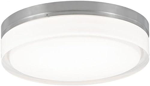 Tech Lighting 700CQSS, Cirque, Small Flush Mount, 9.35 x 9.35 x 6.8 , Satin Nickel