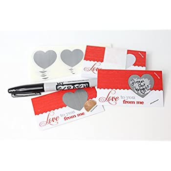 amazon com lovenotes love coupons diy love notes scratch off