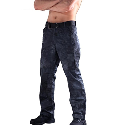 Reebow Gear Men's Military Tactical Pants Outdoor Army Hunting