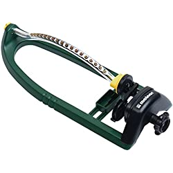 Melnor 3400 sq. ft. Oscillating Sprinkler with Brass Nozzles