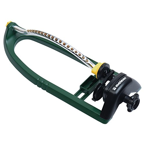 Melnor 3400 sq. ft. Oscillating Sprinkler with Brass Nozzles Melnor Sprinkler
