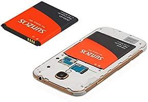 SUNZOS - Batería de Repuesto para Samsung Galaxy S4 I9500/I9505 (2600 mAh, Iones de Litio, 36 Meses)