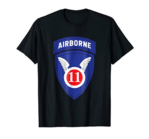 11th Airborne Division Patch T Shirt 21861 ()