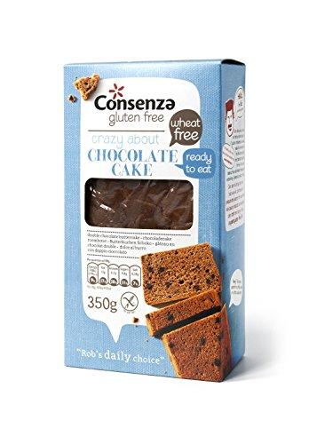 Consenza Doppel Schokolade Kuchen Glutenfrei, 3er Pack (3 x 350 g)