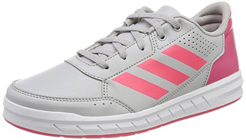 adidas Altasport, Sneakers Basses Fille Multicolore (Grey Two F17/real Pink S18/ftwr White)