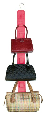 master-craft-handbag-hangup-double-sided-purse-organizer-paradise-pink