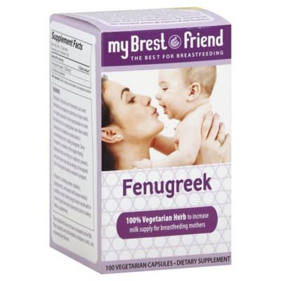 My Brest Friend Fenugreek Breast Feeding Dietary Supplements 100-Count Capsules Review