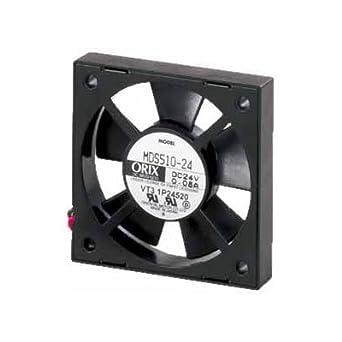 X 2.05 in. ORIX 24 VDC Axial Cooling Fan X 52 mm H H W 2.05 in. W 52 mm