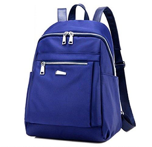 Ladies shoulder bags,borsa di tela,scuola borse-Blu piccolo
