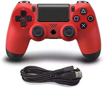 Mando PS4 No Inalambrico Sin Funcion De Auriculares, Mando con Cable Gamepad para Playstation 4, PC (No inalámbrico): Amazon.es: Videojuegos