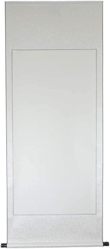 C1 Rouleaux de mur dart de papier de Xuan chinois de rouleau accrochant blanc pour la calligraphie