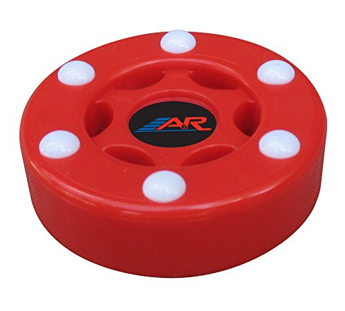 Smooth Hockey Ball - A&R Sports Inline Street Hockey Puck, Red